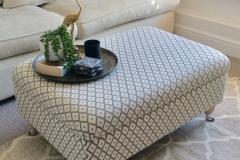 luxury modern footstool