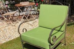 handmade outdoor seat coverings