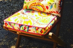 outdoor folding chair cushions