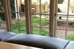 bespoke window bench cushion