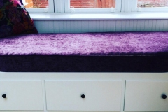 handmade-purple-velvet-window-seat