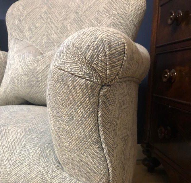 custom armchair upholstery