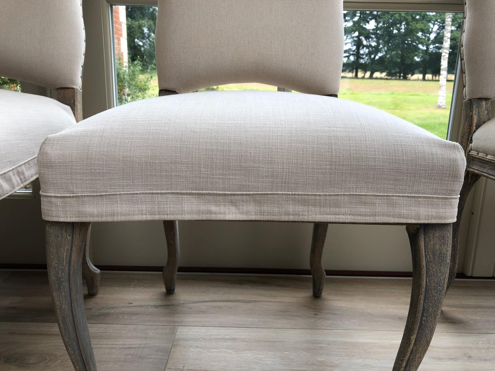 custom dining chair coverings