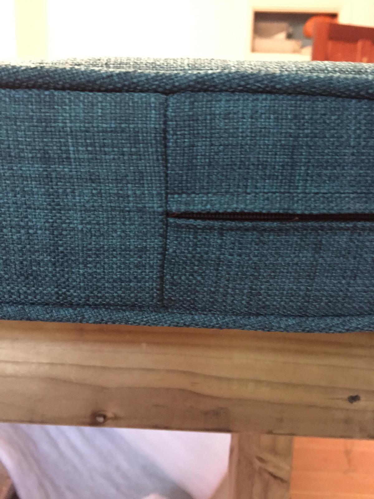 handmade bench cushion upholstery