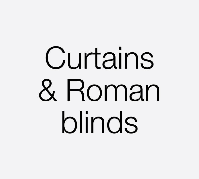 handmade curtains, bespoke roman blinds