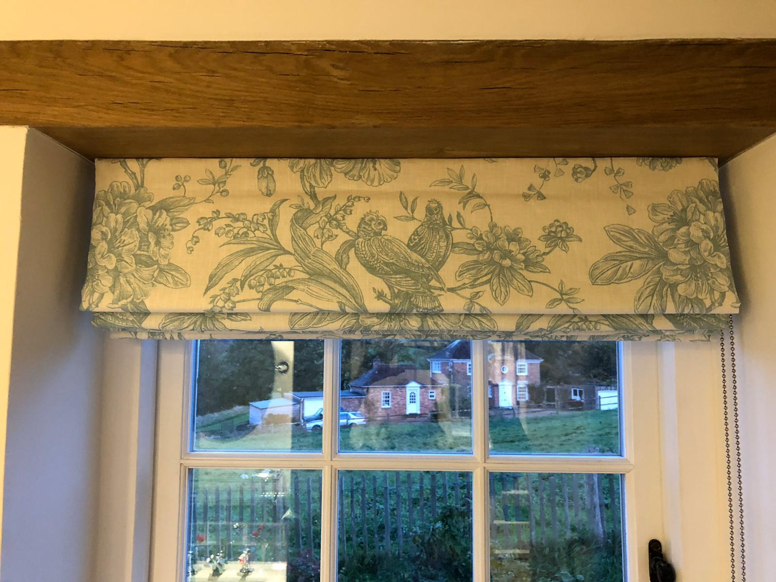 made to measure bespoke roman blinds