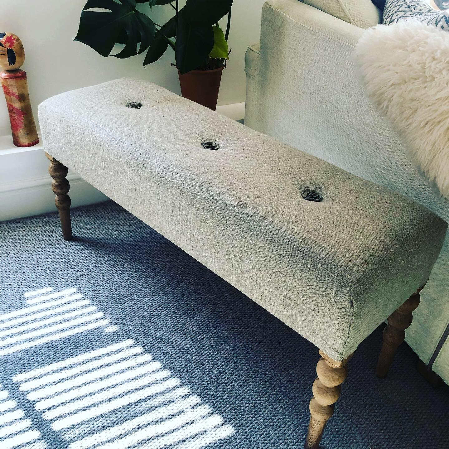 narrow quirky modern footstool