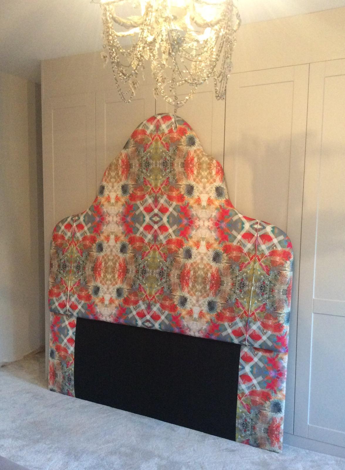 upholstered headboard single