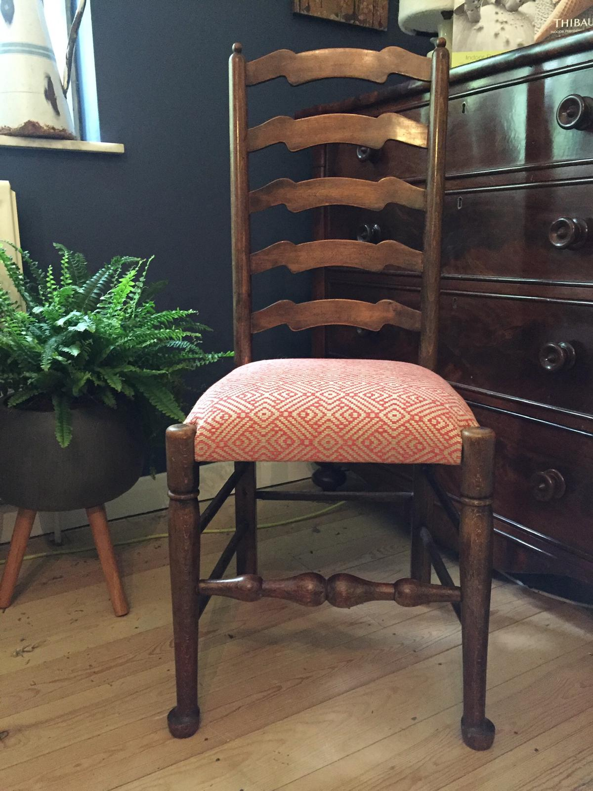 vintage dining chair upholstery